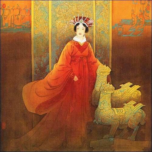 吕雉:汉高祖刘邦的皇后