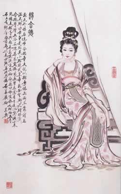 赵合德:汉成帝刘骜宠妃