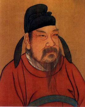 <b>李渊:唐朝开国皇帝,建立唐朝</b>
