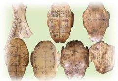 夏朝文字:主要以甲骨文的形式存在
