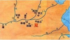 夏朝皇帝列表图 史上第一个帝制国享国471年历经