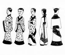 春秋战国服饰 讲述中国春秋战国时期服装