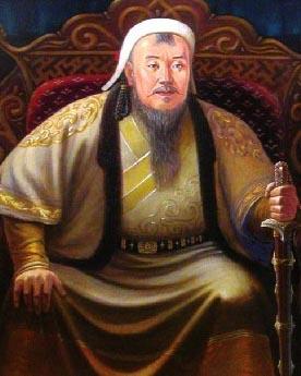 """<b>成吉思汗——被称为""""世界的征服者""""</b>"""