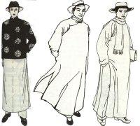 民国男子服饰 民国男子着装中西并存化特