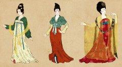 唐朝宫廷服饰 唐朝皇后妃子的服饰是怎样