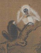 社会万象:古代画猴子第