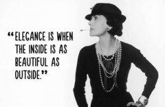 法国着名时装设计师香奈尔诞辰