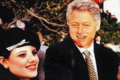 克林顿承认和莱温斯基有不正当关系