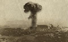 美国在日本长崎投下原子弹